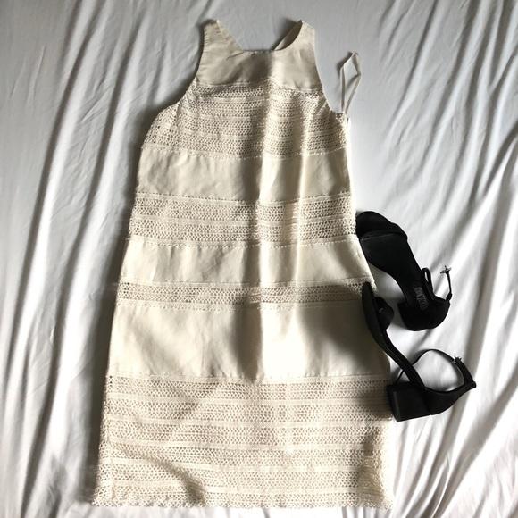 LOFT Dresses & Skirts - 100% sleeveless cotton loft dress